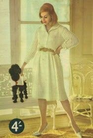 Vintage Knitting Ad-Knit For You And Your Poodle!