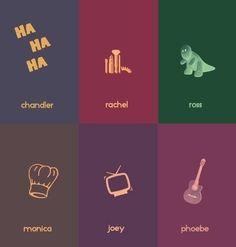 great minimalist symbols of Friends