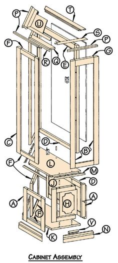 Woodworking plans cabinet, Download a Cabinet Woodworking Plan Woodworking Plans for immediate.