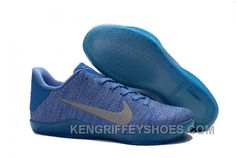factory authentic 89740 369bd Nike Kobe 11 Light Blue Silver