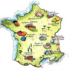 bonbons de France French Teaching Resources, Teaching Activities, Teaching French, French School, French Class, France Geography, Francia Paris, Learn To Speak French, Bon App