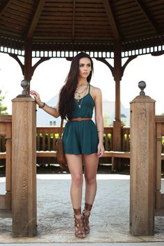 Deep teal outfit - Carli Bybel - www.thebeautybybel.com