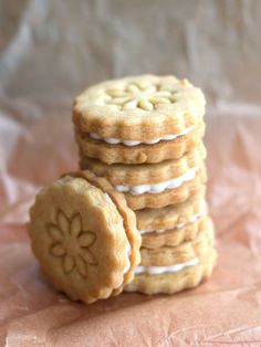 Homemade Golden Oreos - Erren's Kitchen I like the golden ones better than the chocolate ones. I just need to make these Gluten-Free