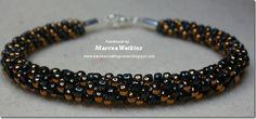 kumihimo beaded bracelet - products listed x