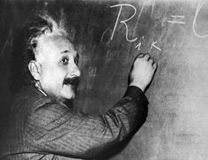 Lesser-known things about Asperger's syndrome Albert Einstein writing an equation on a blackboard
