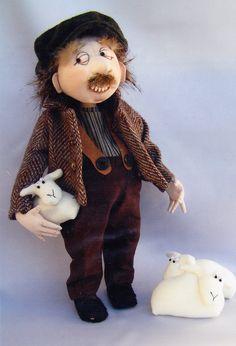 Poupée de chiffon mignon personnage modèle Harry par kate54