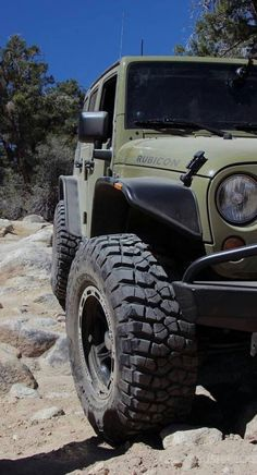 Jeep rubicon.  Definitely happening!