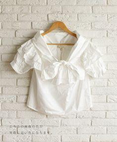 【楽天市場】【再入荷♪2月19日12時&22時より】(オフホワイト)「french」ショールを羽織ったようなリボンのトップス:cawaii