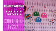 Aprende a hacer divertidos imanes para tu nevera con cuentas hama beads o también llamadas pyssla. Suscríbete a mi canal http://www.youtube.com/user/blogmaes...