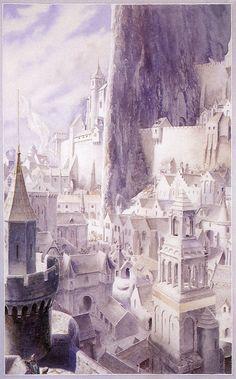'Gondor' by Alan Lee