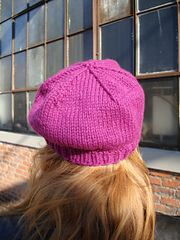 Slouchy Hat, from the book Beyond Knit and Purl by Kate Atherley. cooperativepress.com