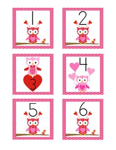 For the Classroom / These Owl Themed Calendar Cards will add color and style to your monthly calendar. The February Owl Themed monthly cards are created with an AABC c...