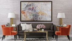This sophisticated space balances bold colors and subtle patterns. Being grown up doesn't have to be boring with the beautiful pop of orange with the Colin Accent Chairs.  http://www.highfashionhome.com/room-ideas/living-room/poppyseed-dressing.html