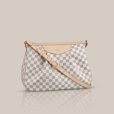 LOUISVUITTON.COM - Siracusa MM Damier Azur Canvas Handbags
