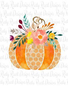 Halloween Rocks, Halloween Pumpkins, Fall Halloween, Halloween Cookies, Cute Pumpkin, Pumpkin Png, Flower Doodles, Doodle Flowers, Pumpkin Images