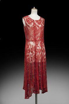 Evening dress, ca 1925