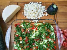 Лазанья из Цукини с овощами и кешью