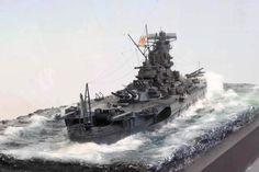 IJN Yamato  by Chris Flodberg