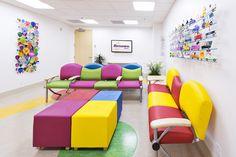 Lobby, David Judy Hess Children's Imaging Center, Renown Children's Hospital.