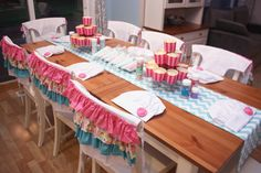 DIY Cupcakes at a Baking Party #baking #partycupcakes