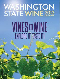 Sean Sullivan - Washington Wine Report: 2013 Washington State Wine Tour Guide released