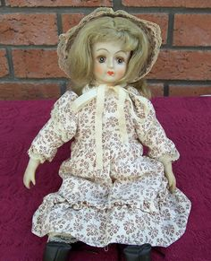 Vintage Porcelain Doll French Pocelain doll by thesecretcupboard, £17.00