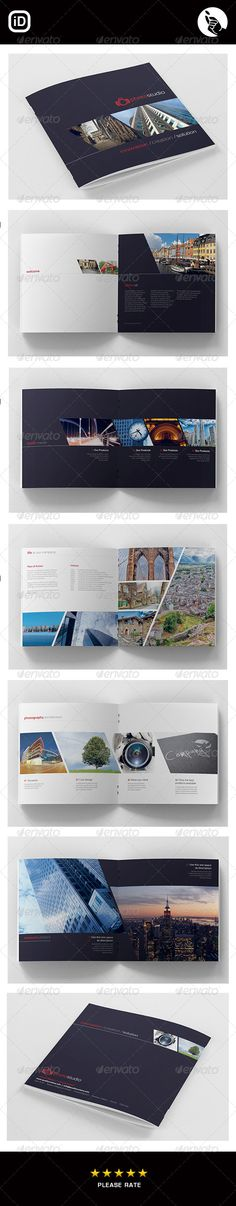 CORPORATE SQUARE V.2 — InDesign INDD #group #stylish • Available here → https://graphicriver.net/item/corporate-square-v2/6536765?ref=pxcr