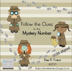 Engage your young detectives in solving these mystery numbers using 100s charts.  $