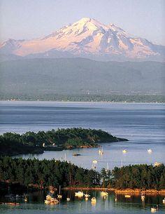 Mt Baker and Bellingham Bay by Western Washington University, via Flickr