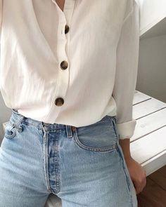 Best Spring Outfits Casual Part 34 Levis Vintage, Jean Vintage, Mode Outfits, Casual Outfits, Fashion Outfits, Simple Outfits, Fashion Tips, Mode Style, Style Me