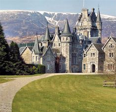 Scotland -- Balmoral Castle  Ruined hotels forever ;)