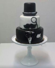 Mrs. White and black cake