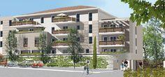 Programme immobilier neuf Le diamant à Chateaurenard, 10 kms d'Avignon