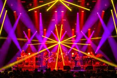 Lighting Designer Saxton Waller Digs Deep with Clay Paky B-EYE and on Fall 2015 Tour Stage Lighting Design, Club Lighting, Event Lighting, Stage Design, Red Rock Amphitheatre, Post Rock, Church Building, Dig Deep, Dance Music