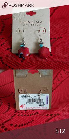 Life style earrings Dangly Sonoma Jewelry Earrings