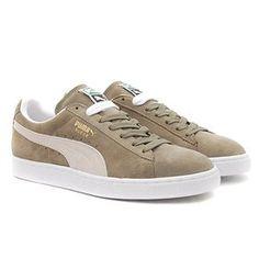 Chaussures PUMA / SUEDE CLASSIC + - Fallen rock white PUMA