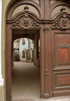 Entrance Doors - Designs From The Historical Record - 1946CDJ