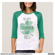 Shamrock and Roll Tee  #stpatricksday st.patricks day saints patricks day treats saints patricks day kids saints patricks day outfits saints patricks day gift #saintspatricksday womens tshirts #womentshirts womens tshirts with sayings #tshirts womens tshirts vintage women's tshirts #womensfashion womens tshirts plain #womenswear womens tshirts casual womens hoodies #shamrock womens hoodies fashion #mugs womens hoodies casual #jewelry womens hoodies outfit #pillows womens hoodies cute