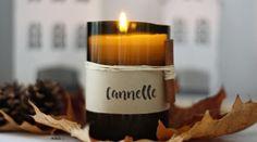 45 cadeaux de Noël à faire soi-même • Hellocoton Diy Cadeau Noel, Candle Jars, Candles, Upcycle, Diy And Crafts, Diy Projects, Gifts, Coin, Barre