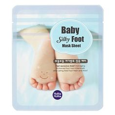 Holika Holika Baby Silky Foot Mask Sheet_2 Sheet    Features    Foot mask manages thickened foot horn intensively and treats tired foot into fresh  and moist Highly enriched essential foot mask which makes your feet fresh and moist.  Detail    How to use 3.18 1set