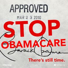 There is still time. #StopObamacare