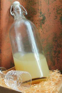 Frukostshot med ingefära, honung och citron får en verkligen att vakna till på morgonen. Health And Nutrition, Lemonade, Glass Of Milk, Smoothies, Detox, Recipies, Deserts, Brunch, Food And Drink