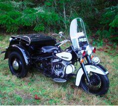 Rare Harley Davidson Police Servi-Car