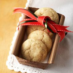 Browned Butter-Cardamom Sugar Cookies From Better Homes and Gardens, ideas and improvement projects for your home and garden plus recipes and entertaining ideas.