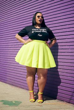 Tee by Feminine Funk. Girlfriend's gams are killing it!