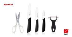 #felizviernes #BlackFriday ¿Quieres renovar tus cuchillos esta #Navidad? Aprovecha el lanzamiento de #frideals y COMPRA YA este set de cuchillos de cerámica de una de las mejores marcas del mercado: Quttin Supreme. SOLO HOY #descuentos #ofertas