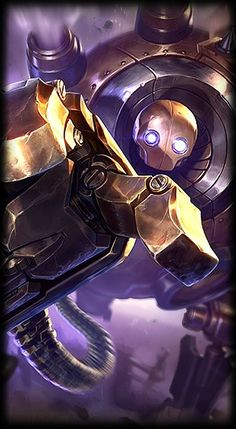 League of Legends- Blitzcrank, the great steam golem