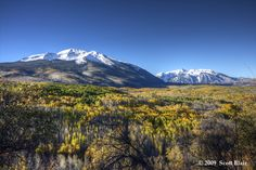 gunnison national forest in the fall | Blair - Colorado Fall 2009