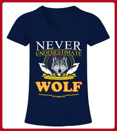 The Woman Loves Wolf - Wolf shirts (*Partner-Link)