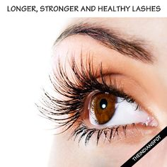 Beautiful long and healthy lashes can make your eyes more appealing. But not all are blessed with healthy and full lashes. To get beautiful lashes it's essential to eat healthy and it also depends on genetics. Here are some effective tips for longer, stronger and healthy lashes. Remove Eye Makeup: It's very essential to remove eye makeup before sleeping for proper lash growth. Makeup contains chemicals that can stop lash growth if not removed property. So, make sure you remove your eye…